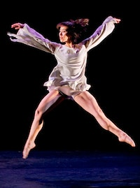 Rioult dancer Jane Sato. Credit: Basil Childers