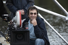 Canadian filmmaker Atom Egoyan on the set of Adoration. © Sony Pictures Classics.