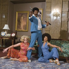 Above: Michael Jai White in Black Dynamite. © Columbia Pictures.