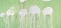 Cy Twombly. Untitled (detail), 2007. Collection of Mr. and Mrs. Donald B. Marron, New York. © Cy Twombly. Courtesy Gagosian Gallery.