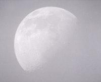 "Roe Ethridge, ""Moon"" (2003). C-Print, AP, 24"