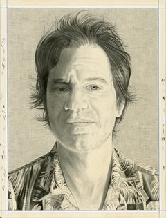 Portrait of Jonas Kyle. Pencil on paper by Phong Bui.