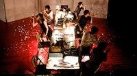 """Kaatsbahn table"" taken by Yi Zhao, April 2009 at Kaatsbahn International Dance Center."