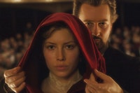 In _The Illusionist,_ Edward Norton is our hero, Jessica Biel a post-verbal confection.