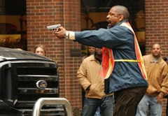 Denzel Washington as Garber. © Columbia Pictures.