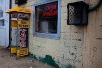 ATM in the Anacostia neighborhood, Washington DC. Credit <a href=