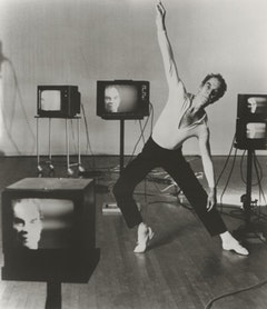 Merce Cunningham in 1981. Photo by Terry Stevenson.