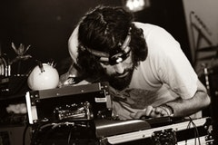 Geologist of Animal Collective, photo by Andrew Kendall.