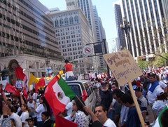 Pro-immigration protest in San Francisco, May 2009. Photo courtesy of SaoPaulo, flickr.com.