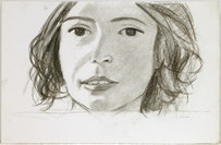 Phoebe, 2006. Charcoal on paper. 16 1/8 x 24 3/4 inches (41 x 62.9 cm). Credit: Courtesy of Peter Blum Gallery, New York.