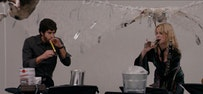 Adam Goldberg and Lucy Punch bring the noise in <i>(UNTITLED)</i>. Credit: Parker Film Company/Samuel Goldwyn Films.