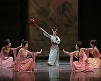 The Han Tang Yuefu Music and Dance Ensemble. Photo by Lium Chen-hsiang.