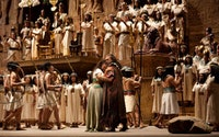 <i>Aida;</i> photo courtesy of the Metropolitan Opera.