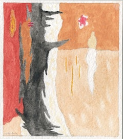 David Anfam, watercolor replica after Clyfford Still's