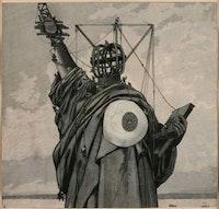 Jindrich Styrsky, La Statue de la liberté [