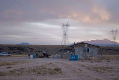 Home near the uranium mines. Photo by Rachel Wise.