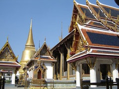The Wat Phra Kaeo temple in Bangkok, Thailand. Photo by vteen, flickr.com.