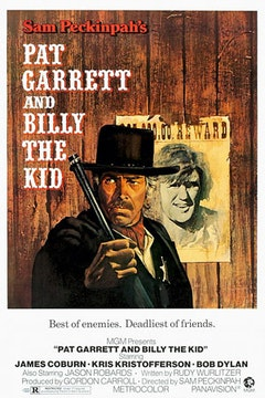 The 1973 poster for <i>Pat Garret and Billy the Kid</i>