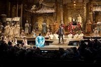 Puccini's <i>Turandot</i>; photo © Marty Sohl/Metropolitan Opera