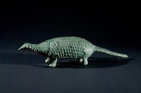 """Pangolin,"" Sa Huynh culture, 3rd century BCE–2nd century CE, Bronze. Courtesy of Asia Society."