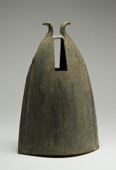 """""""Bell,"""" Dong Son period, 5th century BCE–2nd century CE, Bronze. Courtesy of Asia Society."""