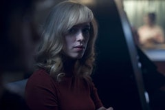 Rebecca Hall as a Ban-lon femme fatale.