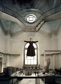 """The Kitchen I - Homage to Saint Therese"" (2009). Framed color Lambda print. © Marina Abramovic. Courtesy the artist and Sean Kelly Gallery, New York."