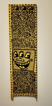 "Keith Haring, ""Untitled"" (November 4, 1981). Photo by Hrag Vartanian"