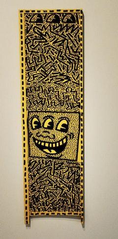 "Keith Haring, ""Untitled"" (November 4, 1981). Photo by Hrag Vartanian"