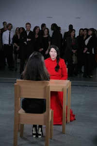 Marina Abramović <em>The Artist Is Present</em> at The Museum of Modern Art.  Photos by Scott Rudd.
