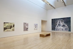 Luc Tuymans, installation view at San Francisco Museum of Modern Art; © 2010 Luc Tuymans; photo: Ian Reeves, courtesy SFMOMA.