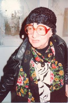Photo of the artist by Valery Oisteanu.