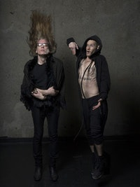 Pete Drungle and Jeremy Wade. Photo by Eric McNatt.