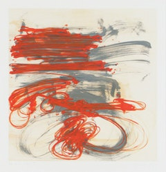 "<i>Hand in Glove 5</i> (2009), 27"" x 26"", monoprint"