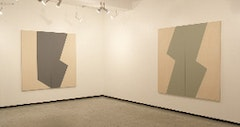 Installation view: Left: