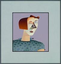 Jim Nutt, Trim, 2010. Courtesy David Nolan Gallery.