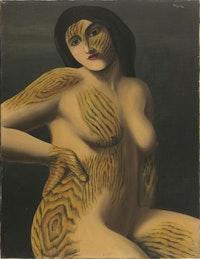 """René Magritte, """"La Découverte"""" (1927)."""