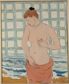 """René Magritte, """"Le Galet"""" (1948)."""