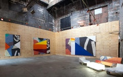 Installation view at the Boiler. Courtesy of Boiler Pierogi.