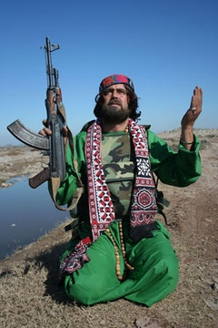 Pashtun Action Hero - Javed Musazai. Photo: George Gittoes