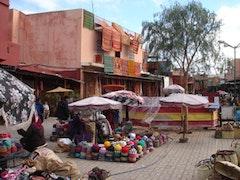 Djemaa el Fna market; photo: Daniel Mitchell.