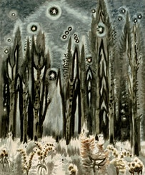 Orion in December, 1959. Watercolor and pencil on paper, 39 78 x 32 7/8 in. (101.3 x 83.5 cm). Smithsonian American Art Museum. Gift of S.C. Johnson & Son, Inc.