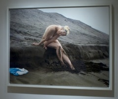 Nicole, Fort Funston (I) Archival Pigment Print on Cotton Rag paper mounted to Plexiglass 40 x 50