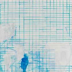 """Last Summer"" (2009). Acrylic on canvas. 58 x 58 inches. Photo by Tom Van Eynde. Courtesy of Zolla/Lieberman Gallery"