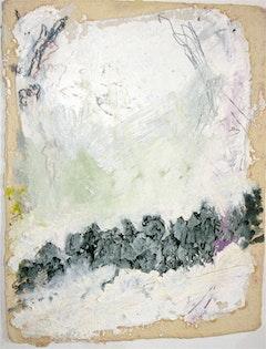 "Nancy Brett, ""Untitled Painting"" (2008). 20"" x 20"". Photo courtesy the Fine Art Adoption Network."