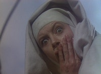 And the abyss looks back...Deborah Kerr in <i>Black Narcissus</i>.