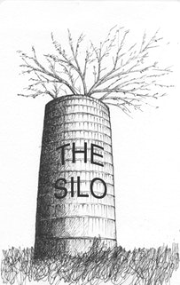 Logo for The Silo, designed by Elena Berriolo.