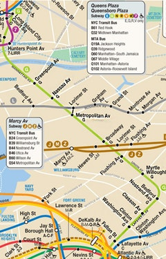 G Train Subway Map.The G Train Bound For Glory The Brooklyn Rail