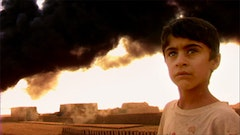 Kurdish boy, Koretan. Still from Iraq in Fragments.