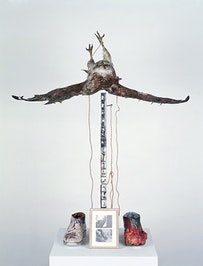 """Untitled (Buzzard),"" 1968."